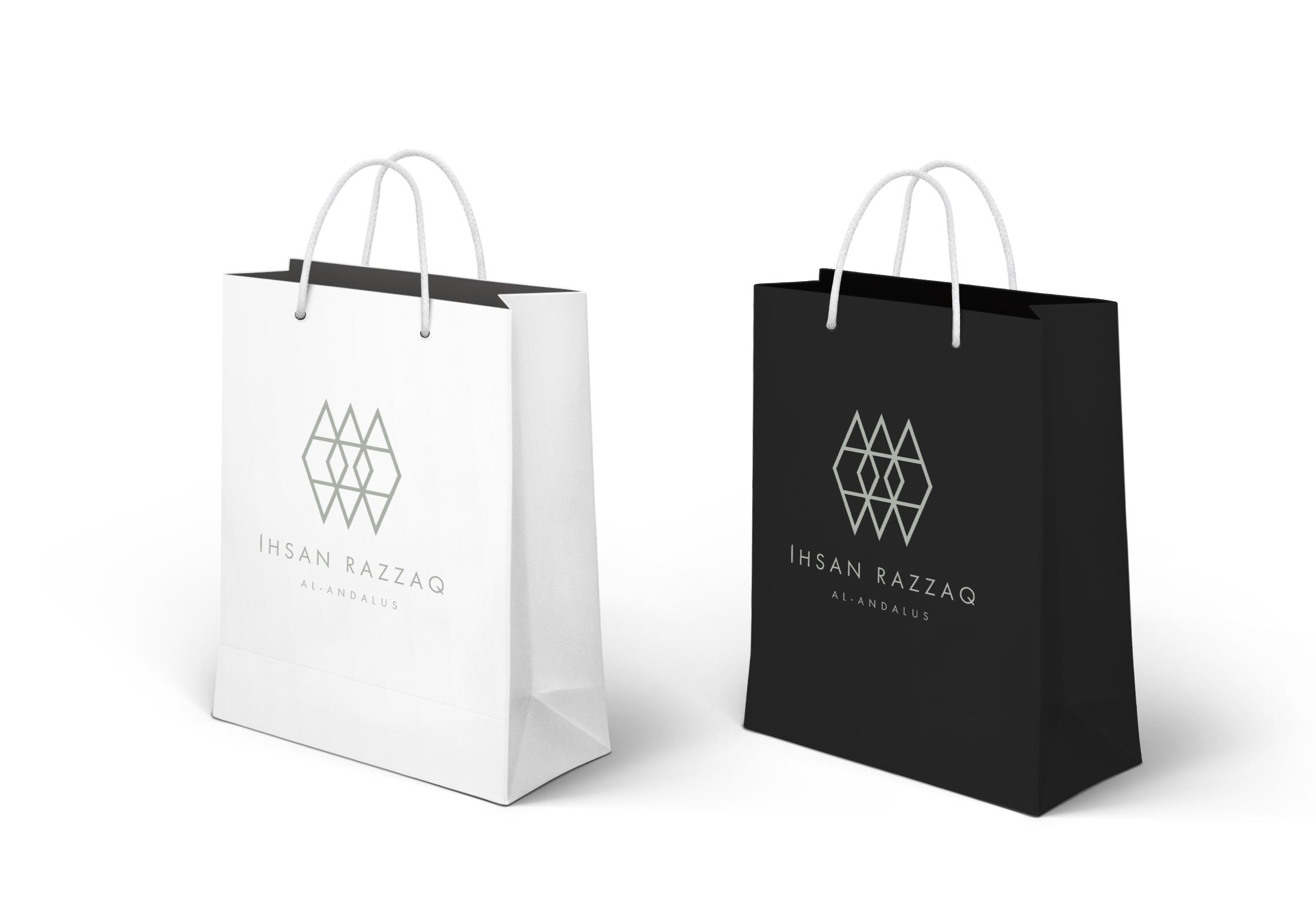 Branding y diseño web para Ihsan Razzaq por Binarid