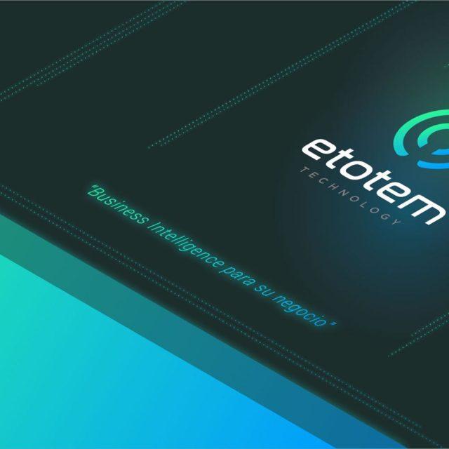 Branding y diseño web para Etotem Technology por Binarid