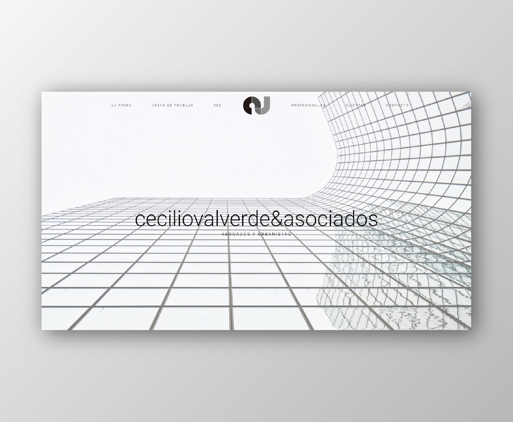 Web para Cecilio Valverde y Asociados